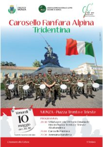 Concerto Fanfara Tridentina @ Monza