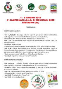 4° Campionato Nazionale ANA MTB @ Bistagno