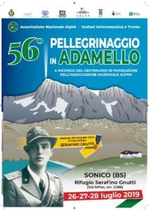 Pellegrinaggio solenne Adamello 2019 @ Adamello