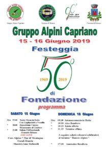 50° gruppo di Capriano @ Capriano