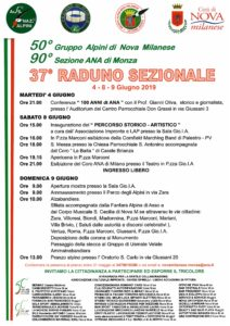 Raduno Sezionale Nova Milanese @ Nova Milanese