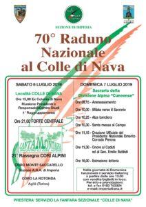 70° Raduno Nazionale al Colle di Nava @ Colle di Nava