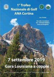 1° trofeo nazionale golf @ Cortina D'Ampezzo