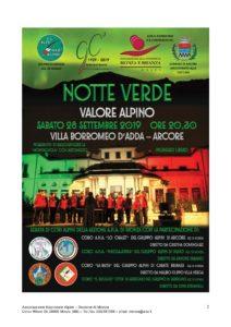 Concerto dei cori @ Arcore