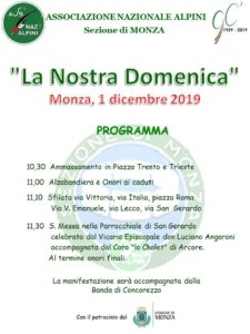 La Nostra Domenica 2019 @ Monza
